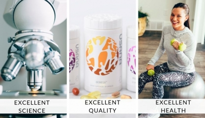 Live Healthy and Happy with USANA® Vitamins and Supplements